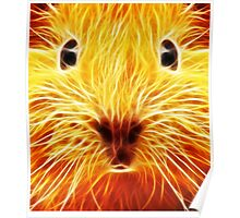 Fiery Mouse Poster