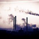 Factory Smoke by Rhys Herbert