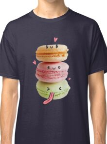 Funny Macarons Classic T-Shirt