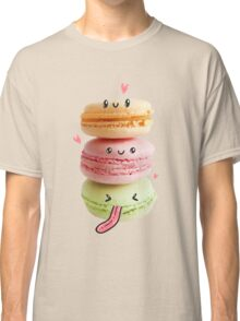 Funny Macarons Classic T-Shirt