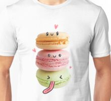 Funny Macarons Unisex T-Shirt