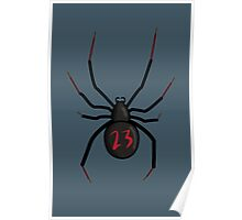 Lucky Number Black Widow Poster
