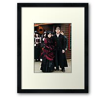 The Goth Weekend at Whitby, Oct 2010. 20 Framed Print