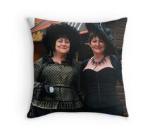 The Goth Weekend at Whitby, Oct 2010. 21 Throw Pillow