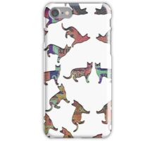 Circle of Cats. iPhone Case/Skin