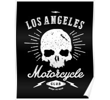 Los Angeles Motorcycle Club Tee | Black Poster