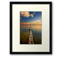 Narrow passage to nowhere Framed Print