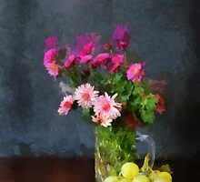 Autumn Flowers by Gilberte