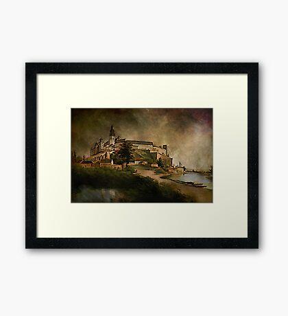 Wawel Castle, 1845 y Framed Print