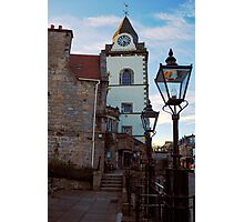 The Jubilee clock tower - Queensferry Photographic Print