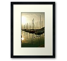 Evening rest Framed Print