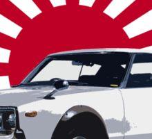 Datsun 240K Rising Sun Sticker