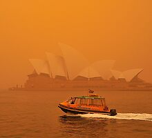 Sydney Dust Storm for Carole by Barry Culling