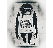 Marvin Sunk - It's Alright Photographic Print