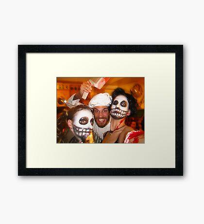 Halloween Carnage Framed Print