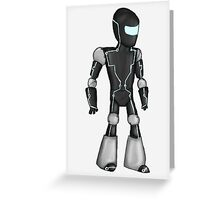 Sci-Fi Robot Greeting Card