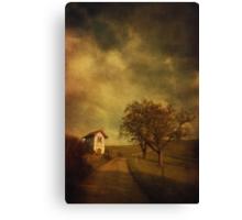 Little vineyard house Canvas Print