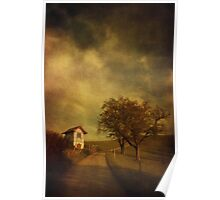 Little vineyard house Poster