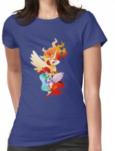 Princess Celestia and Nightmare Star Womens Fitted T-Shirt