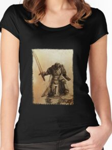 Angel of Darkness - Original Women's Fitted Scoop T-Shirt