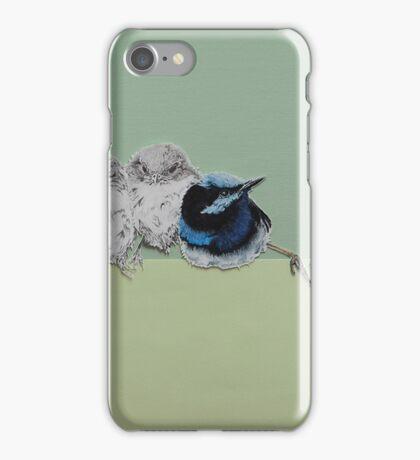 Blue Wrens iPhone Case/Skin