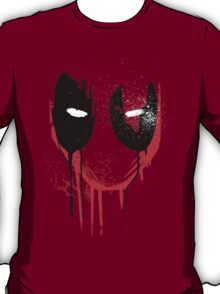 melting deadpool design marvel T-Shirt