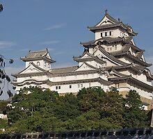 Himeji Castle (White Heron Castle), Himeji, Japan by johnrf