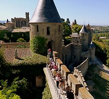 Carcassonne - visiting the castle by bubblehex08