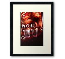 Shots Anyone? Framed Print