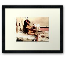 A Terrible Accident?  Framed Print