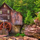 The Glade Creek Grist Mill - Layland, WV by Gregory Ballos | gregoryballosphoto.com