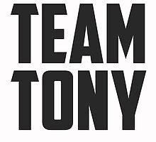 Team Tony - Black on White by BellaAlderton