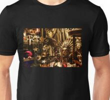 Impressions of Venice - Sun and Moon Venetian Carnival Masks  Unisex T-Shirt