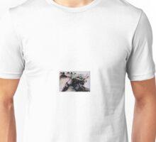 motorbike print Unisex T-Shirt