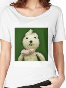 Knitted Character Women's Relaxed Fit T-Shirt