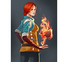 Witcher 3 - Triss Photographic Print