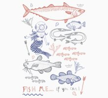 Fish me.... if you can! No. 2 One Piece - Short Sleeve