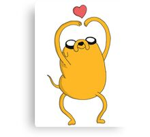 Adventure Time - Love Jake Canvas Print