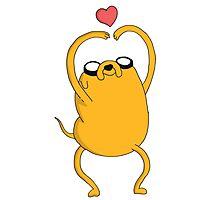 Adventure Time - Love Jake Photographic Print