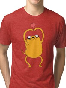 Adventure Time - Love Jake Tri-blend T-Shirt