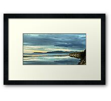 Reflections of Marion Bay Framed Print