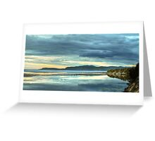 Reflections of Marion Bay Greeting Card