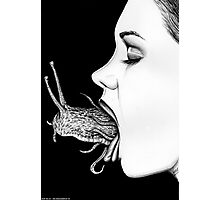 Do Not Swallow • Macabre Surreal Art Illustration Photographic Print