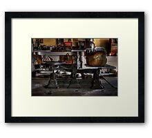 Weight Watcher Framed Print