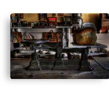 Weight Watcher Canvas Print
