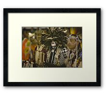 Thunder and Lightning Pow Wow Framed Print