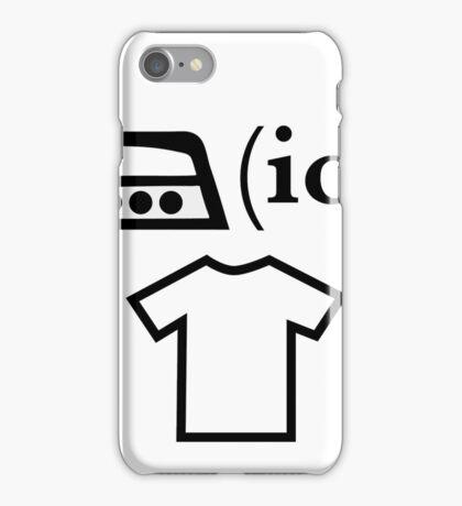 Ironic T Shirt iPhone Case/Skin