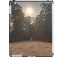 Sunrise at Preah Khan Gate iPad Case/Skin