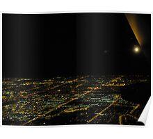 Nighttime Toronto Poster