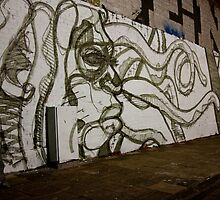 Tentacle Graffiti by phil decocco